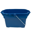 "Roughneck® 14 Quart Royal Blue Bucket - 17.5"" L x 9.81"" W x 10.13"" H"