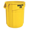 "10 Gallon Yellow Rubbermaid® Brute® - 15.63"" Dia. x 17.13"" H"