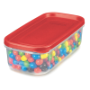 """Rubbermaid® Modular 5 Cup Canister - 9.49""""L x 4.72""""W x 2.88""""H"""