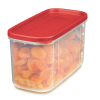 """Rubbermaid® Modular 10 Cup Canister - 9.49""""L x 4.72""""W x 5.38""""H"""
