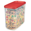 """Rubbermaid® Modular 16 Cup Canister - 9.49"""" L x 4.71"""" W x 7.86"""" H"""