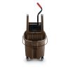 """Brown 35 Qt. WaveBrake® Down Press Combo - 20.31""""L x 16.44""""W x 21.63""""H"""