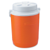 "Rubbermaid® 1 Gallon Orange Victory™ Jug - 8.41"" L x 8.31"" W x 10.98"" H"