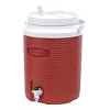 "Rubbermaid® 2 Gallon Red Victory™ Jug - 9.7"" L x 9.5"" W x 13.2"" H"