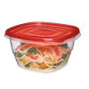 "Rubbermaid® TakeAlongs® 5.2 Cup Deep Square Containers - 6.94"" L x 5.74"" W x 3.51"" H"