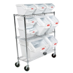 Rubbermaid® Prosave™ Bin & Cart System