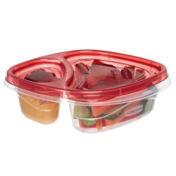 Rubbermaid® TakeAlongs® 2.8 Cup Divided Snackers