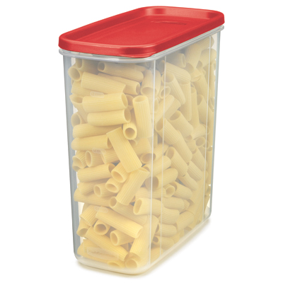 "Rubbermaid® Modular 21 Cup Canister -  9.49"" L x 4.71"" W x 10.39"" H"