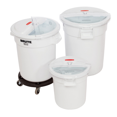 Rubbermaid® Prosave™ Sliding Lids & Brutes®