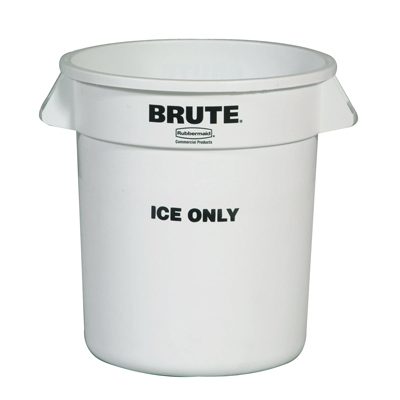 "Rubbermaid® 10 Gallon ""Ice Only"" Brute® Container"