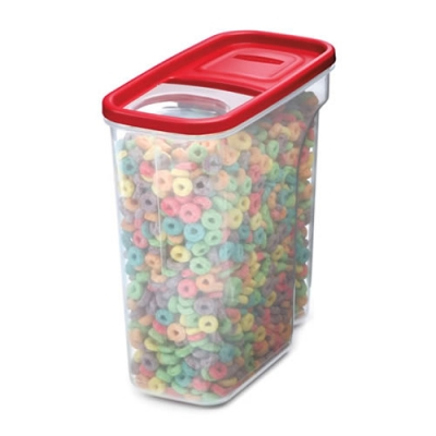 "Rubbermaid® Modular 18 Cup Cereal Container -  9.5"" L x 4.75"" W x 10.4"" H"