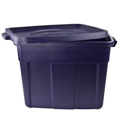 ... Dark Indigo Rubbermaid® Roughneck® Boxes with Lids  sc 1 st  US Plastics & Rubbermaid® Roughneck® Boxes with Lids | U.S. Plastic Corp.