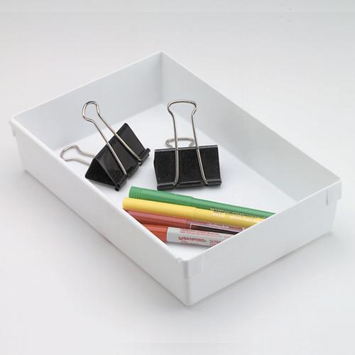 """Rubbermaid® 9"""" L x 6"""" W x 2"""" H Plastic Drawer Organizer"""