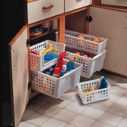 Rubbermaid® Slide 'n Stack Baskets