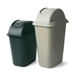 Rubbermaid® Soft Wastebaskets & Untouchable® Tops