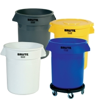 Rubbermaid® 20 Gallon Brute® & Accessories