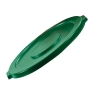 "Dark Green Lid for 10 Gallon Rubbermaid® Brute® - 17.13"" Dia. x 1.25"" H"