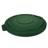 "Dark Green Lid for 20 Gallon Rubbermaid® Brute® - 19.88"" Dia. x 1.8"" H"