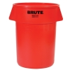 "55 Gallon Red Rubbermaid® Brute® - 26.38"" Dia. x 33.19"" H"