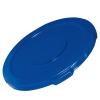"Blue Flat Lid - 29.06"" Dia. x 2.09"" H"