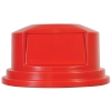 "Red Dome Top Lid - 27.25"" Dia. x 14.5"" H"