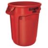 "32 Gallon Red Rubbermaid® Brute® - 21.92"" Dia. x 27.77"" H"