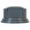 "Gray Dome Top Lid - 22.69"" Dia. x 12.25"" H"