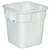 "28 Gallon White Square Brute® Container - 21-1/2"" Sq. x 22-1/2"" Hgt."