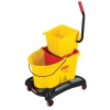 "Yellow 35 Qt. WaveBrake® Dual Water Side Press Combo - 22.4""L x 38.6""H x 16.5""W"