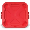 Red Snap-Lock® Lid for 28 Gallon Square Brute® Containers