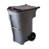 "Rubbermaid® 65 Gallon Brute® Roll Out Container - 25.2"" x 32.2"" x 41.375"""