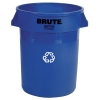 Rubbermaid® 32 Gallon Brute® Round Recycling Container