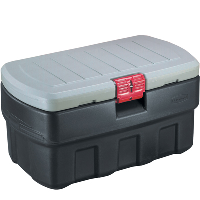 "48 Gallon Rubbermaid® ActionPacker® Storage Container 43.8"" L x 17.16"" W x 20.54"" H"
