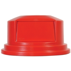 "Red Dome Top Lid - 22.69"" Dia. x 12.25"" H"