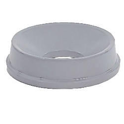 Round Light Gray Funnel Untouchable® Top for 6684 & 6685