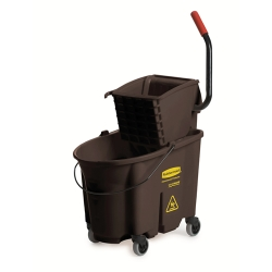 "Brown 35 Qt. WaveBrake® Side Press Combo - 20.1""L x 16.44""W x 21.63""H"