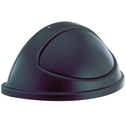 Black Half Round Style Series® Lid for 6707 & 6708
