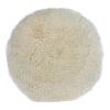 "7"" Dia. x 1-1/2"" Pile Wool Polishing Pad"