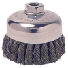 "2-3/4"" Knot Wire Cup Brush with 1/2""-13 Arbor Hole"