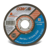 "4-1/2"" Dia. x .045"" Thickness x 7/8"" Arbor Hole Quickie Cut™ Cut-Off Wheel - Type 27"