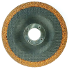 "4-1/2"" Dia. x 1/4"" Thickness x 7/8"" Arbor Hole Weiler® Tiger® Ceramic Grinding Wheel - Type 27"