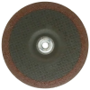 "6"" Dia. x 1/4"" Thickness x 5/8""-11 Hub Weiler® Tiger® Ceramic Grinding Wheel - Type 27"