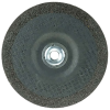 "6"" Dia. x 1/4"" Thickness x 5/8""-11 Hub Weiler® Tiger® Zirconia Grinding Wheel - Type 27"