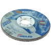 "4-1/2"" Dia. x 1/4"" Thickness x 7/8"" Arbor Hole Weiler® Tiger® Inox Grinding Wheel - Type 27"