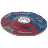 "6"" Dia. x 1/4"" Thickness x 7/8"" Arbor Hole Weiler® Tiger® Premium Aluminum Oxide Grinding Wheel - Type 27"