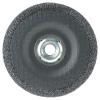 "4-1/2"" Dia. x 1/4"" Thickness x 5/8""-11 Hub Weiler® Tiger® Premium Aluminum Oxide Grinding Wheel - Type 27"