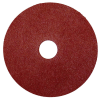 "4-1/2"" Dia. x 7/8"" Arbor Hole x 60 Grit Camel CGW Aluminum Oxide Resin Fiber Disc"