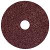 "4-1/2"" Dia. x 7/8"" Arbor Hole x 36 Grit Weiler® Wolverine™ Aluminum Oxide Resin Fiber Disc"