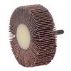 """3"""" Dia. x 1"""" W x 1/4"""" Shank 120 Grit Weiler® Tiger® Aluminum Oxide Flap Wheel"""