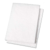 "6"" x 9"" White Non-Abrasive Cleaning Pads"